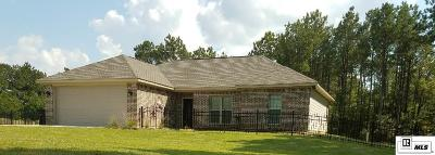 Lincoln Parish Single Family Home For Sale: 7433 Highway 80