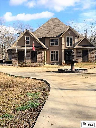 Monroe Single Family Home For Sale: 596 Stubbs Vinson Road