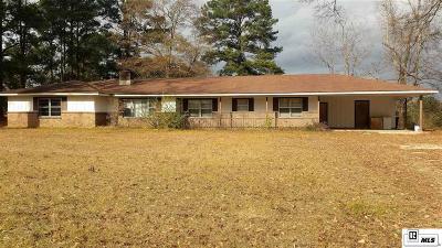 Calhoun LA Single Family Home For Sale: $139,000