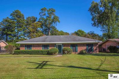 Monroe LA Single Family Home For Sale: $166,000