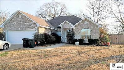 Calhoun LA Single Family Home Active-Price Change: $197,500