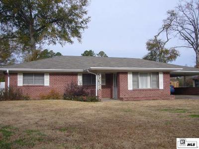 West Monroe LA Single Family Home For Sale: $127,000
