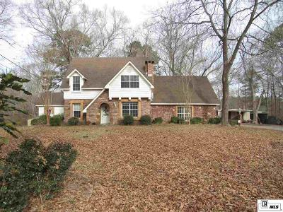 West Monroe Single Family Home For Sale: 1400 Strozier Road