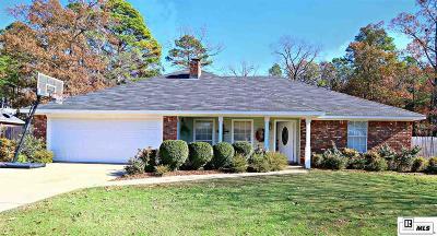 West Monroe Single Family Home For Sale: 115 Olde Oaks Drive