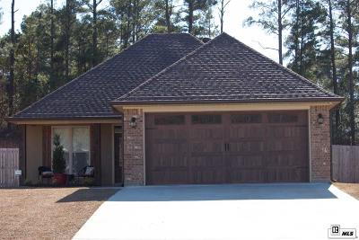 West Monroe Single Family Home For Sale: 123 Autumn Place Drive