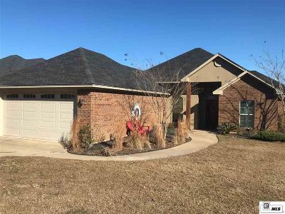 West Monroe Single Family Home For Sale: 130 Teal Loop