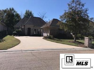Monroe Single Family Home For Sale: 4202 Ava Lane