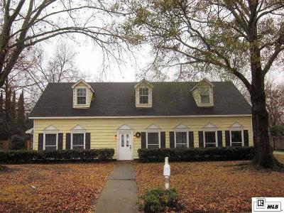 Monroe LA Single Family Home For Sale: $295,000