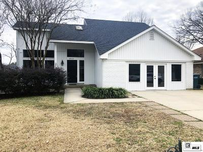 Single Family Home For Sale: 3012 John Cole Place