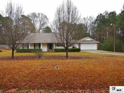 West Monroe Single Family Home Active-Pending: 120 Twin Oaks Drive