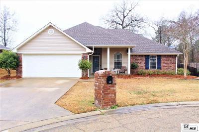West Monroe Single Family Home Active-Pending: 129 Mizell Lane