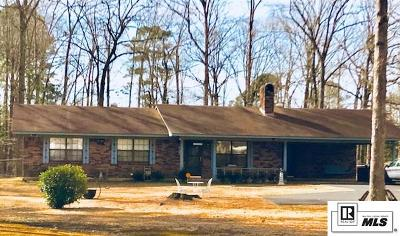 Lincoln Parish Single Family Home For Sale: 9155 Highway 80