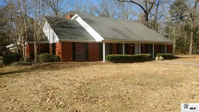 Single Family Home For Sale: 8283 Old Monroe Road