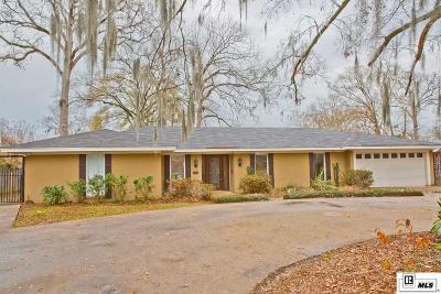 Monroe LA Single Family Home For Sale: $219,000