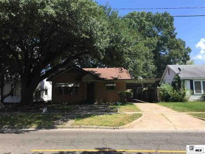 West Monroe Single Family Home New Listing: 402 N 7th Street