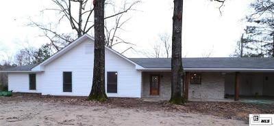 West Monroe Single Family Home New Listing: 649 Strozier Road
