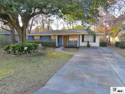 Monroe Single Family Home New Listing: 2021 Park Avenue