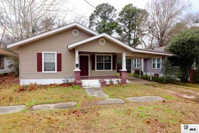 West Monroe Single Family Home New Listing: 209 N 6th Street