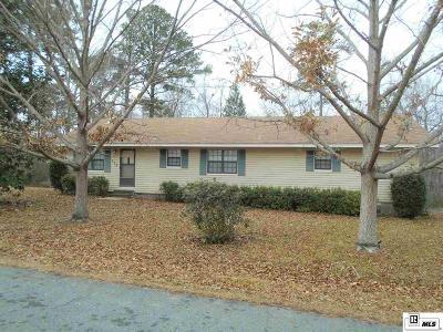 West Monroe Single Family Home New Listing: 438 Ruben Johnson Road
