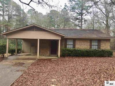 Lincoln Parish Single Family Home New Listing: 1710 Haskell Drive