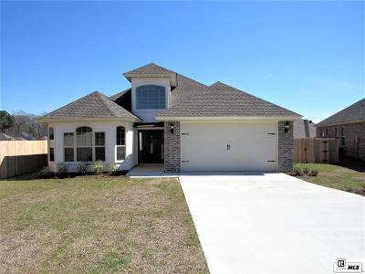 West Monroe Single Family Home New Listing: 103 Canvasback Cove