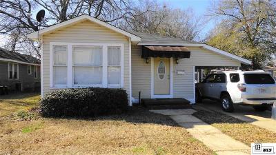 West Monroe LA Single Family Home For Sale: $110,000