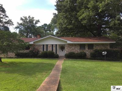 West Monroe Single Family Home New Listing: 2001 Star Drive