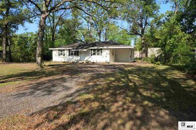 West Monroe Single Family Home New Listing: 124 Pineridge Road