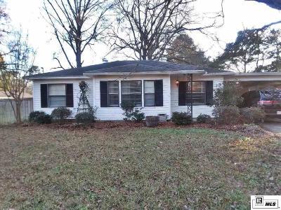 West Monroe LA Single Family Home New Listing: $135,000