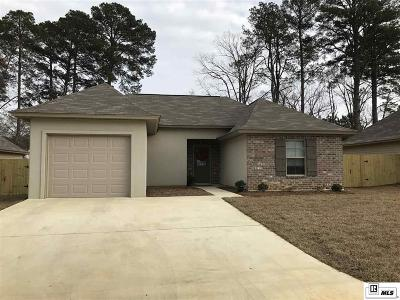 West Monroe Single Family Home New Listing: 124 Caldwell Road