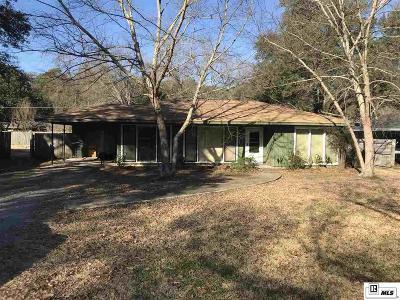 Monroe Single Family Home New Listing: 1609 Frances Place