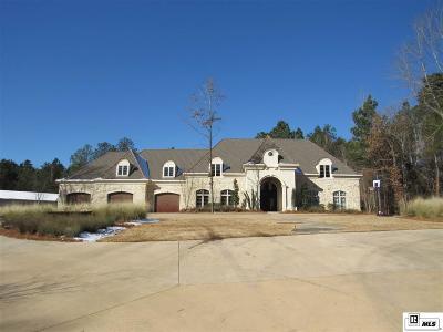 West Monroe LA Single Family Home New Listing: $849,900