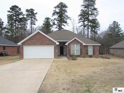Calhoun LA Single Family Home New Listing: $200,000