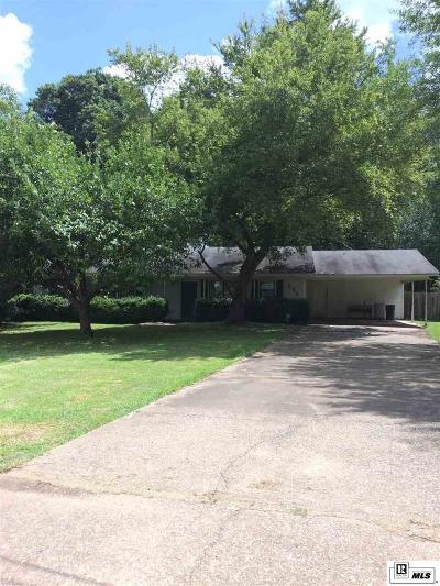 Monroe LA Single Family Home New Listing: $118,000