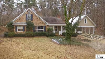 Ruston Single Family Home Active-Pending: 322 Old Wire Road