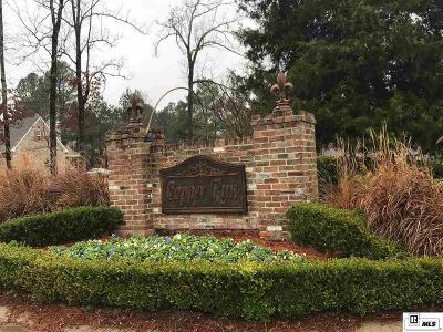 Monroe, West Monroe Residential Lots & Land For Sale: Copper Run