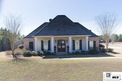 Ruston Single Family Home Back On Market: 206 Belle Pointe Drive