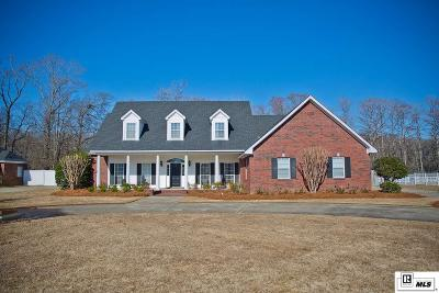 Monroe Single Family Home For Sale: 1431 Frenchmans Bend Road
