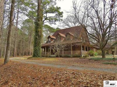 West Monroe Single Family Home For Sale: 148 Tom Sturdivant Road
