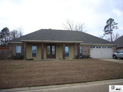 West Monroe Single Family Home For Sale: 113 Teal Loop