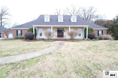 Monroe Single Family Home Active-Price Change: 1445 Frenchmans Bend Road
