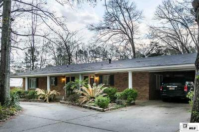 Ruston Single Family Home For Sale: 1802 N Trenton Street