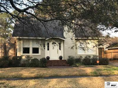 Monroe Single Family Home For Sale: 2304 Jasmine Street