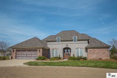 Monroe Single Family Home For Sale: 208 Maison Drive