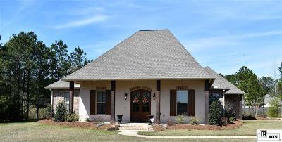 Ruston Single Family Home For Sale: 144 Oak Alley