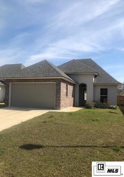 Monroe Single Family Home For Sale: 204 Briar Trace