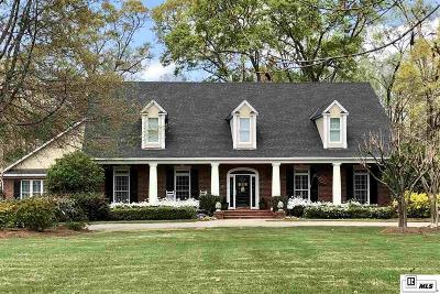 Monroe Single Family Home For Sale: 1473 Frenchmans Bend Road