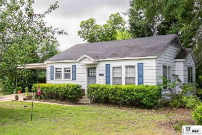 Dubach Single Family Home For Sale: 8035 Hico Street
