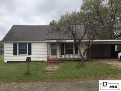 Lincoln Parish Single Family Home Active-Pending: 137 Rex Street