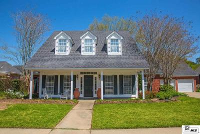 Monroe Single Family Home Active-Pending: 3318 Oakleigh Circle